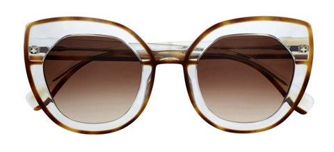 Face A Face Meyer Women's Sunglasses Havana Crystal