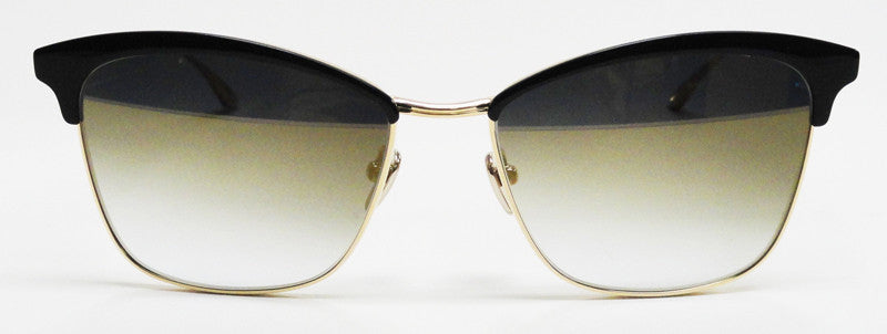 Masunaga Ocean Drive S39 Black Gold Sunglasses Hicks Brunson Eyewear