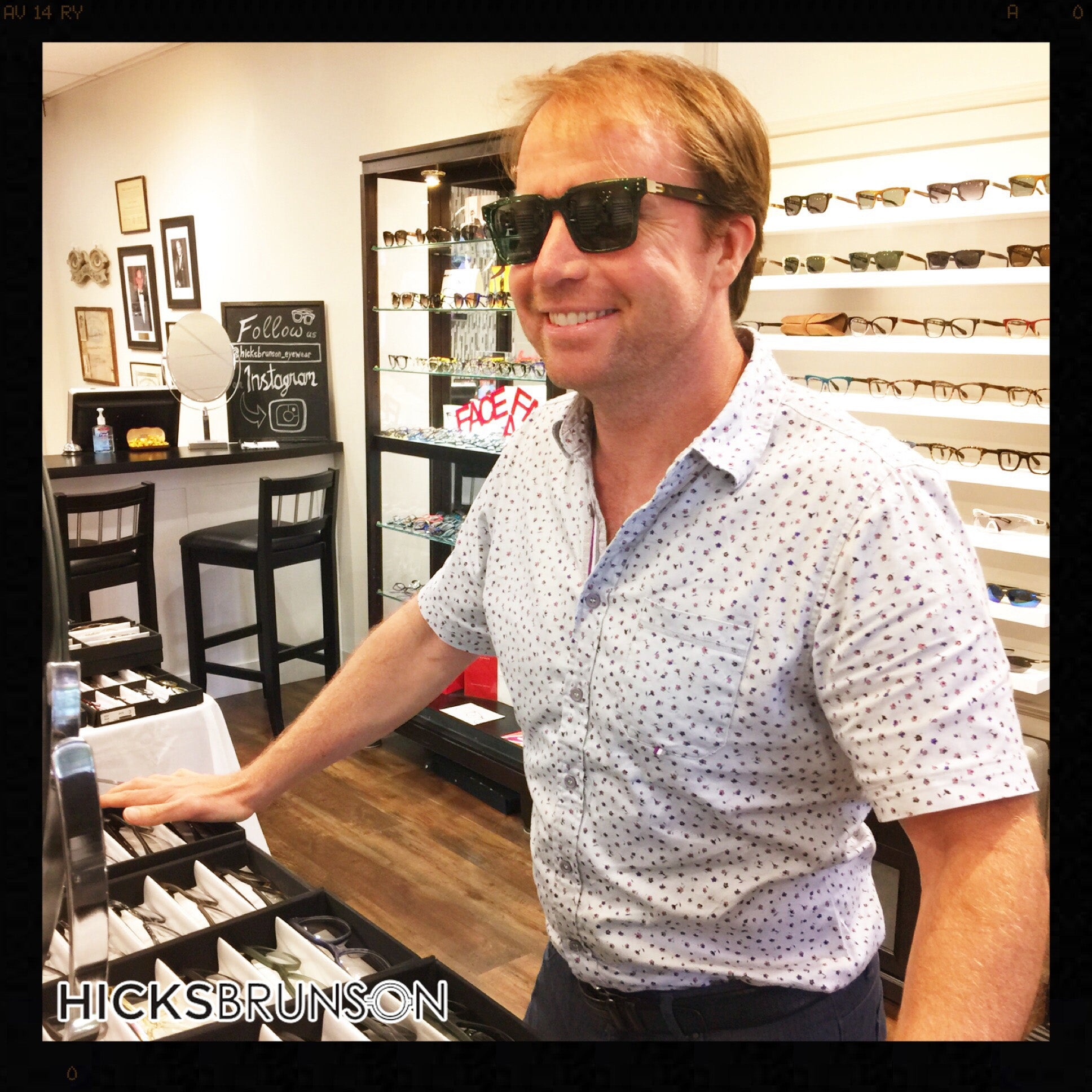 Tom Cody - Frame Designer - Zero G - Born In Brooklyn - Hicks Brunson Eyewear - Trunk Show