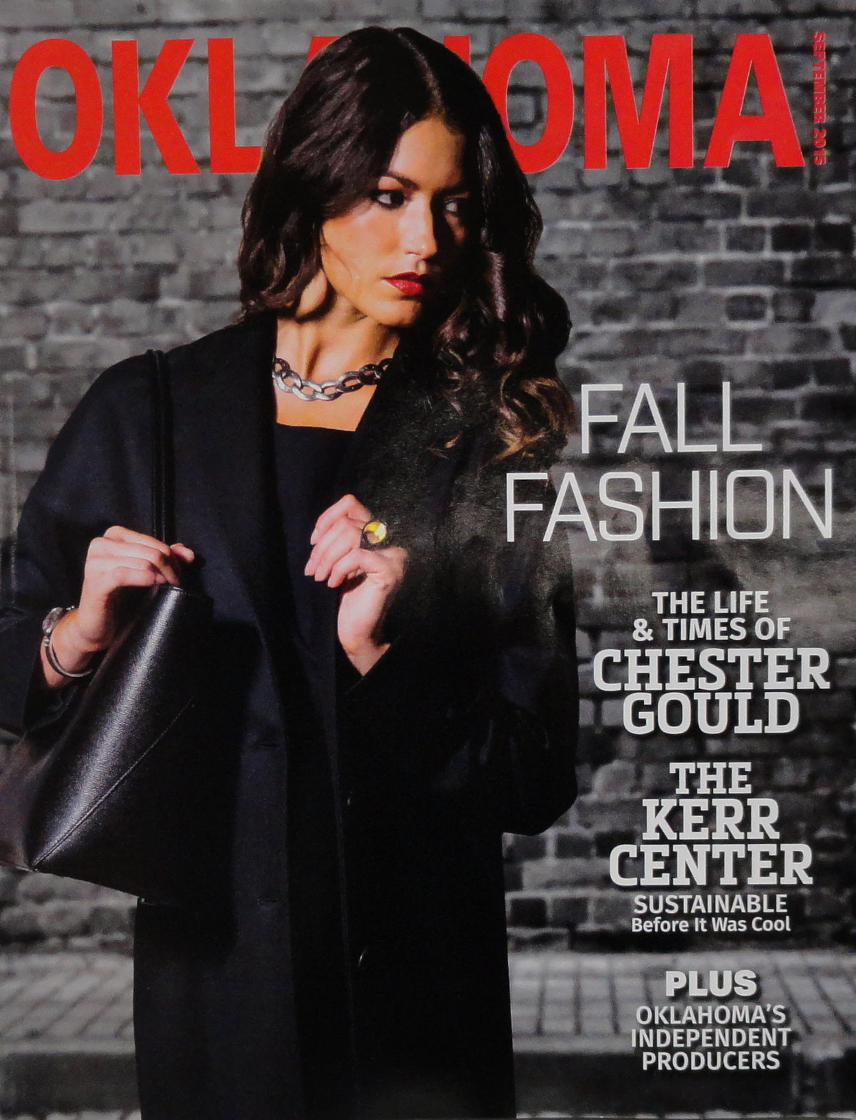 OklahomaMagazine September 2015 Cover
