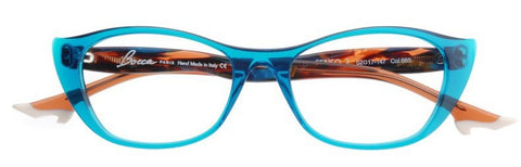Face A Face Bocca Senso 2 665 teal plastic frame