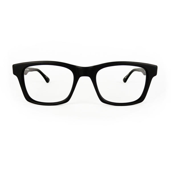 Masunaga - 065 - 19 - Matte Black - Eyeglasses - Hicks Brunson Eyewear
