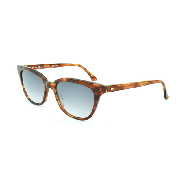 Masunaga - 069 - S13 - Demi Tort - Sunglasses - Rectangular - Cateye