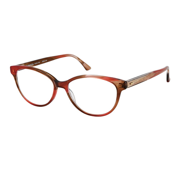 Masunaga - 079 - #23 - Red Marble - Cateye - Eyeglasses
