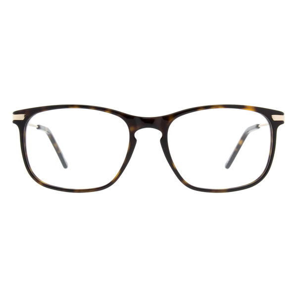 Andy Wolf - 4548 - B - Tortoise/Gold - Rectangular - Eyeglasses