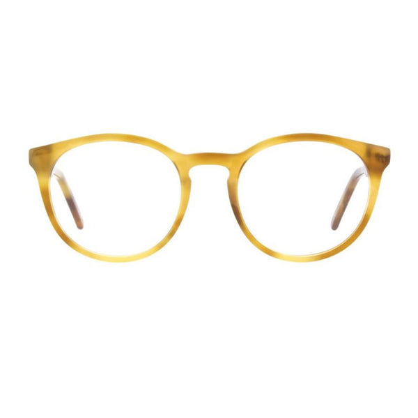 Andy Wolf - 4567 - H - Light Tortoise - Round - P3 - Eyeglasses - Hicks Brunson Eyewear