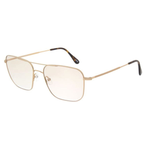 Andy Wolf - 4737 - B - Gold - Rectangle - Navigator - Eyeglasses - Hicks Brunson Eyewear