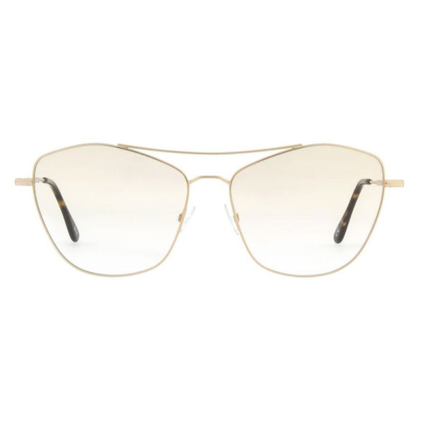 Andy Wolf - 4747 - B - Gold - Cateye - Metal - Eyeglasses - Hicks Brunson Eyewear