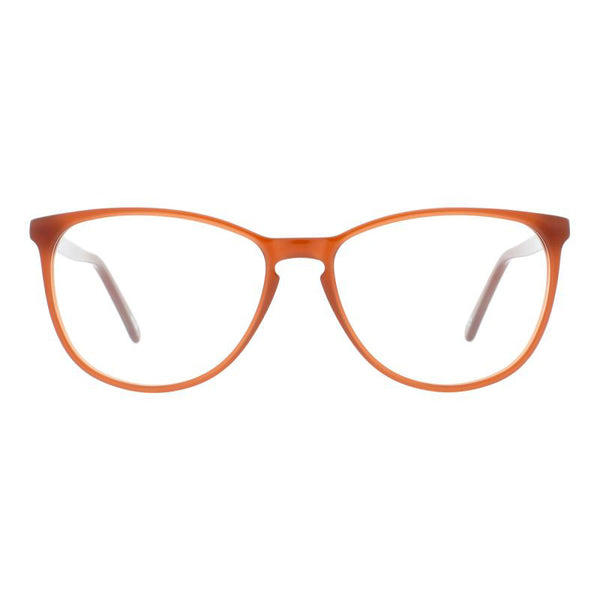 Andy Wolf - 5066 - C - Brown - Cateye - Eyeglasses