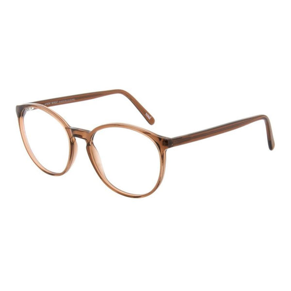 Andy Wolf - 5067 - 15 - Brown - Round - Eyeglasses - Hicks Brunson Eyewear