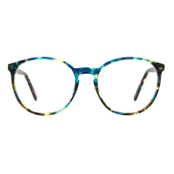 Andy Wolf - 5067 - 4 - Blue Tortoise - Round - Eyeglasses - Hicks Brunson Eyewear