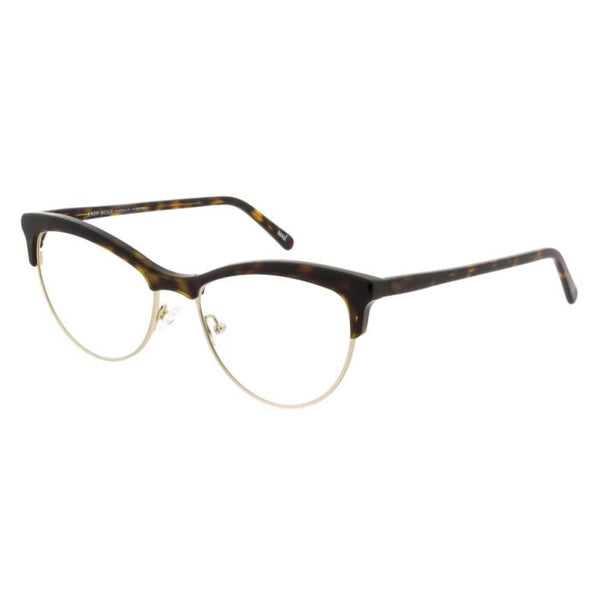 Andy Wolf - 5081 - B - Tortoise / Gold - Cateye - Browline - Eyeglasses - Hicks Brunson Eyewear