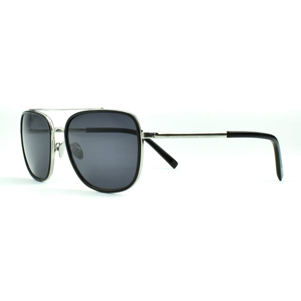 Tom Davies - TD LE - 85653 - Black/Silver - Sunglasses - Rectangular