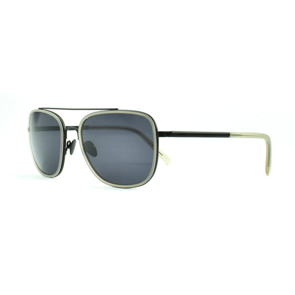Tom Davies - TD LE - 85654 - Black/Smoke - Sunglasses - Rectangle