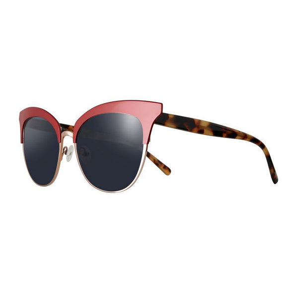 Tom Davies - LE - 85724 - Red/Gold/Tortoise - Cateye - Sunglasses