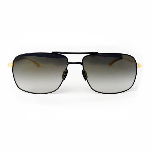 Masunaga 9004 SG - 79 - Black Gold - Aviator - Sunglasses