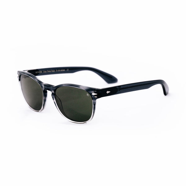 American Optical - AO1004 - Gray Demi Fade - zyl acetate - rectangle - sunglasses - Hicks Brunson Eyewear