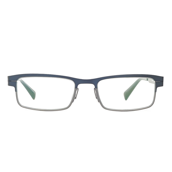 Zero G - Amherst - Navy Blue Antique Silver - Titanium - Eyeglasses
