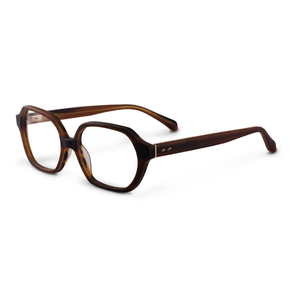 Sama - Ava - Matte Honey - Rectangular - Eyeglasses