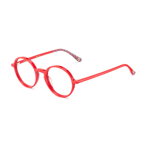 Etnia Barcelona - Babila - 2RD - Red - Round - Eyeglasses - Hicks Brunson Eyewear