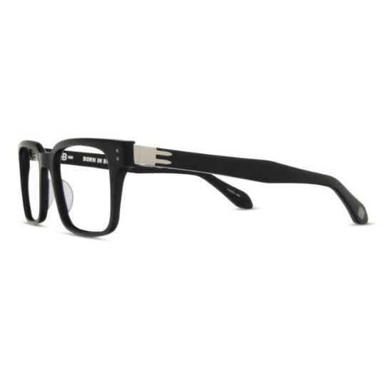 Born In Brooklyn - Bedford-Stuyvesant - Black-Silver - Eyeglasses - Hicks Brunson Eyewear