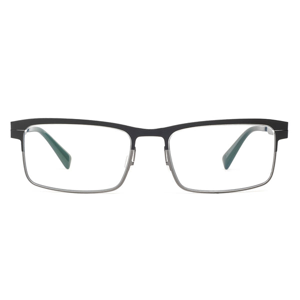 Zero G - Big Flats - Black Antique Silver - Titanium - Eyeglasses