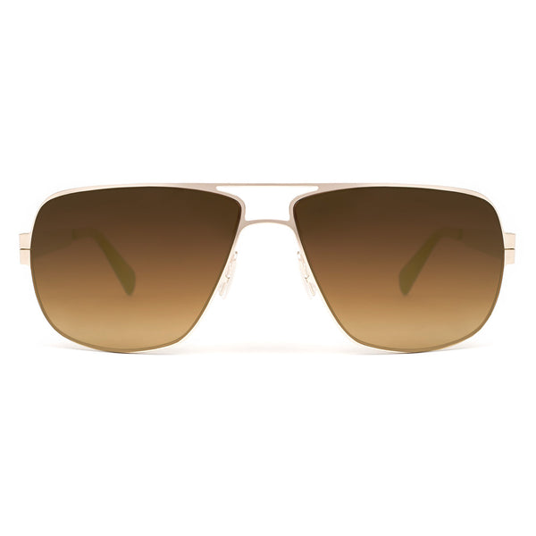 Zero G Born In Brooklyn Sunglasses Gold Mirrored Lenses