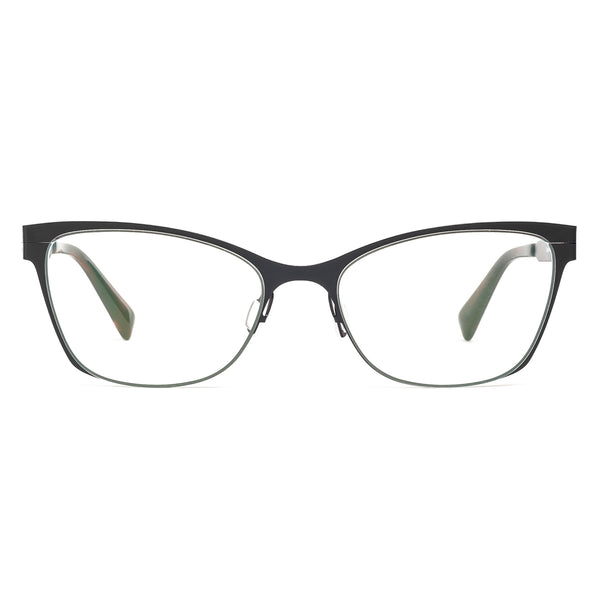 Zero G - Brookhaven - Black/Crimson - Cateye - Eyeglasses - Titanium