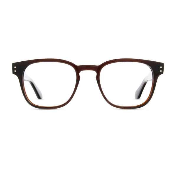 Born In Brooklyn - Brooklyn Heights - Whisky - Rectangular Eyeglasses - Hicks Brunson Eyewear