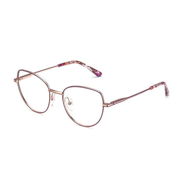 Etnia Barcelona - Catania - PKBX - Pink/Gold - Cateye Eyeglasses - Metal Eyeglasses