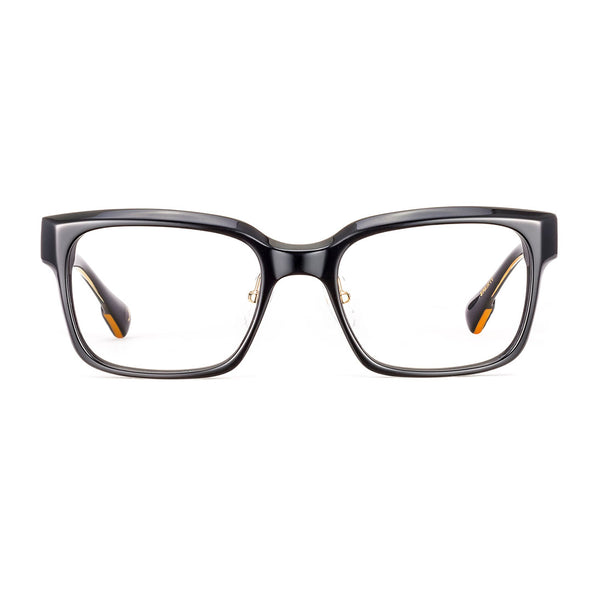Etnia Barcelona - Causeway Bay - 4BK - Black / Gold - Rectangle - Eyeglasses - Hicks Brunson Eyewear