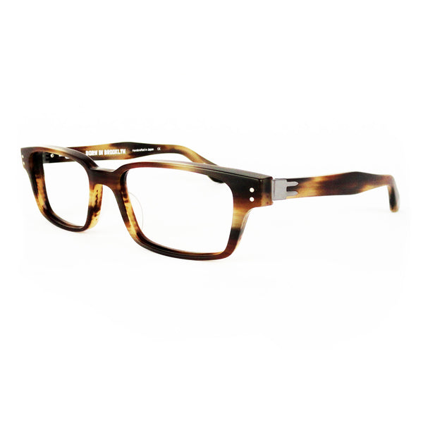 Born In Brooklyn - Cobble Hill - Chestnut - Eyeglasses - Hicks Brunson Eyewear
