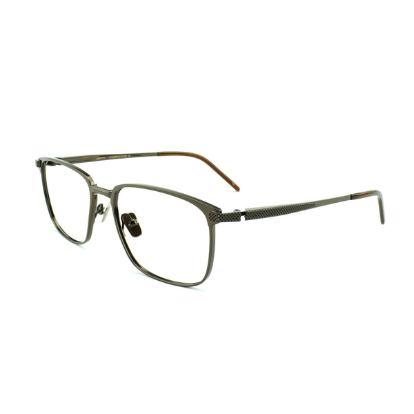 Sama - Combustion 10 - Brown - BRN - Titanium - Rectangular - Eyeglasses