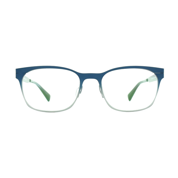 Zero G - Dickenson - Navy Blue-Silver Gradient - Rectangular Eyeglasses - Hicks Brunson Eyewear
