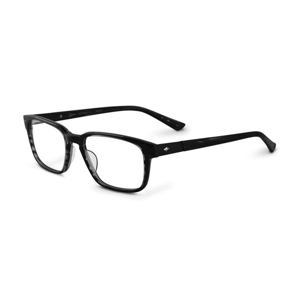 Sama - District 2 - Matte Grey Horn - Rectangle - Eyeglasses