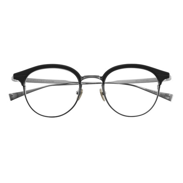 Masunaga - Ellington - #29 - Black - Titanium - Round - Eyeglasses - Hicks Brunson Eyewear