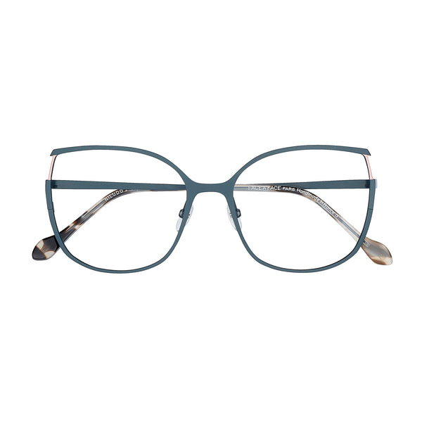 Face A Face - Niludo 2 - 9470 - Navy / Pink / Pearl - Butterfly - Cateye - Titanium - Eyeglasses