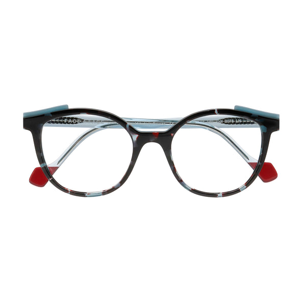 Face A Face - Shift 1 - 0078 - Blue Tortoise - Cateye - Eyeglasses