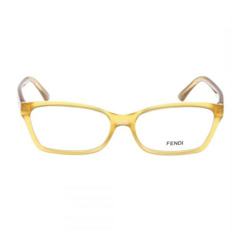 Fendi - F939 - 832 - Yellow - Rectangular Cateye - Eyeglasses