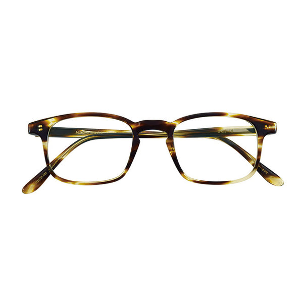 Masunaga - GMS-13 - 24 - Havana - Rectangular - Eyeglasses - Hicks Brunson Eyewear
