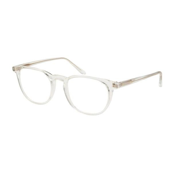 Masunaga - GMS-16 - #40 - Clear / Gold - Rectangle - Round - Eyeglasses - Hicks Brunson Eyewear