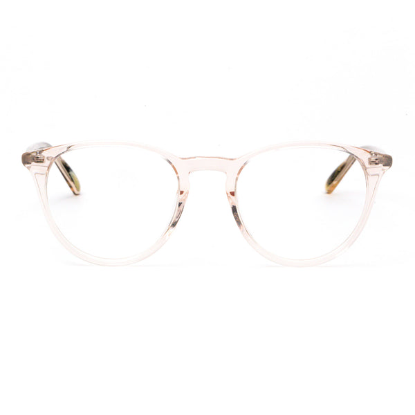 Hicks Brunson - Vinnie - 1180 - Champagne / Shiny Gold Sun-Clip with Gold-Mirror Brown Tinted Lenses - Round - P3 - Eyeglasses - Clip-on - Sun-Clip - Hicks Brunson Eyewear