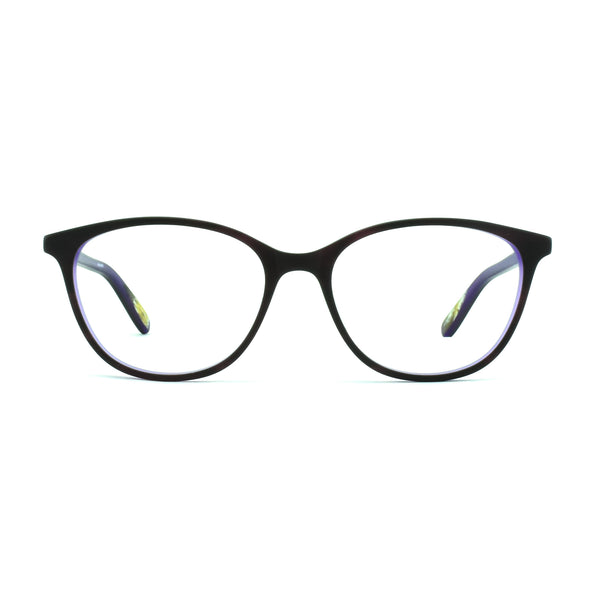 Hicks Brunson - Nina - Tortoise / Matte Purple - 522S - Cateye - Eyeglasses - Hicks Brunson Eyewear