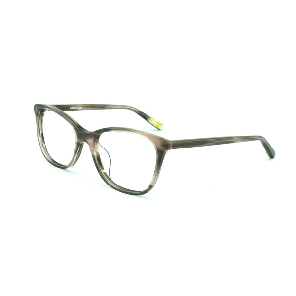 Hicks Brunson - Trinity - Brown - 59 - Rectangle - Cateye - Eyeglasses - Hicks Brunson Eyewear