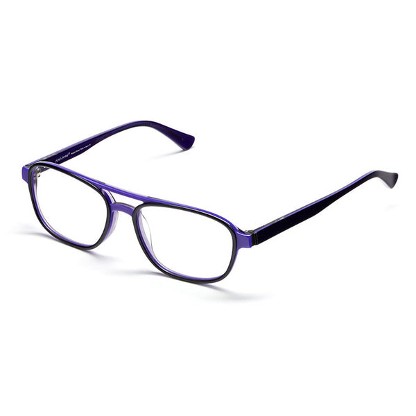Iyoko Inyake - IY 644 - 82 - Purple - Rectangular Eyeglasses