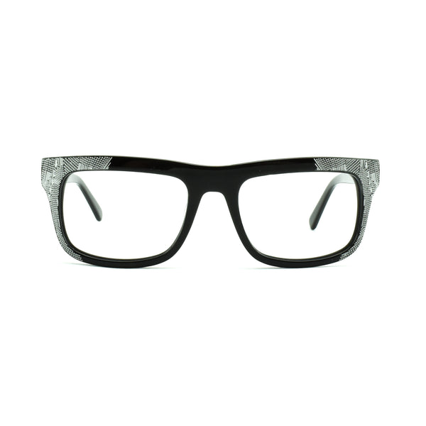 Iyoko Inyake - IY 652 - 190 - Black - Rectangular - Eyeglasses