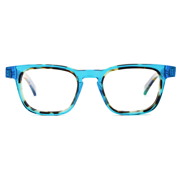 Etnia Barcelona - Ibiza 01 - BLHV - Blue Havana - Rectangle - Eyeglasses - Hicks Brunson Eyewear