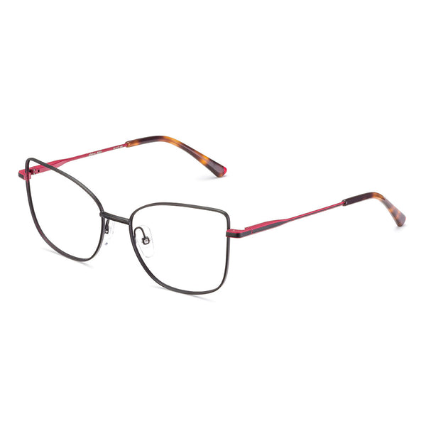 Etnia Barcelona - Juneau - BKRD - Black/Red - Cat-eye Eyeglasses
