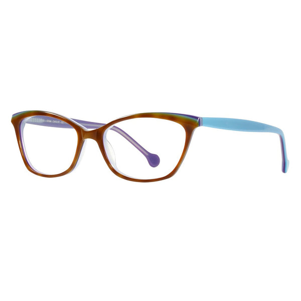 eyeOs - Joni - DSM - Blue Light Glasses - Blue Filter - No Magnification - Cateye - Eyeglasses