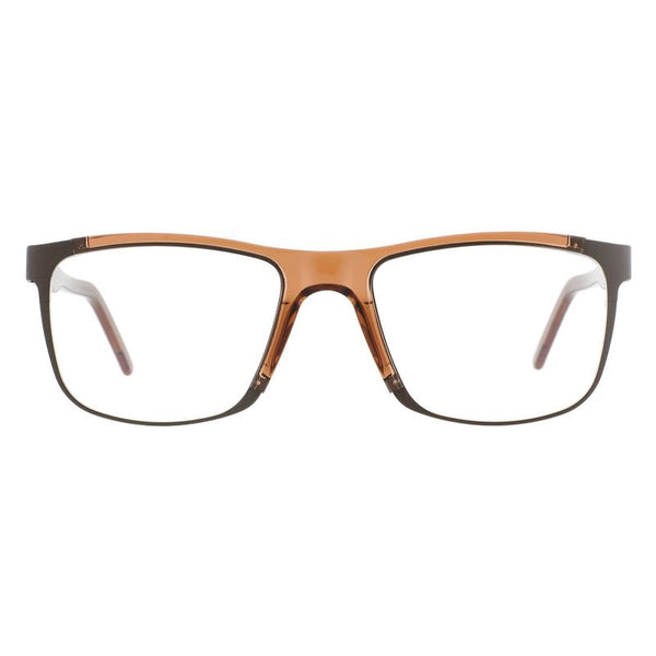 Andy Wolf - Kok - F - Brown - Rectangular - Eyeglasses